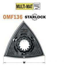 93mm driehoek schuurzool, met velcro, voor StarLock systeem
