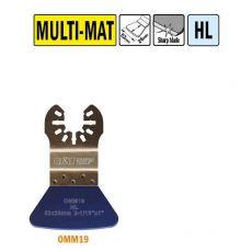52 mm. vaste schraper voor alle materialen (Universeel)