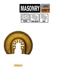 65mm ronde multitool met hardmetaal grit 1st. (Universeel)