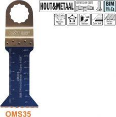 42mm. Bi-metaal multitool voor hout en metaal (SuperCut)