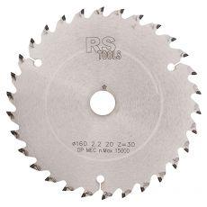 Diamantzaag Ø160 x 2,2 x 20  z=36 TF, voor laminaat en HPL