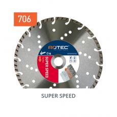 Diamantzaag SUPER SPEED voor beton/natuursteen