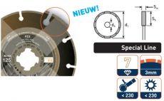 Diamantzaag Fex X-Lock® special line