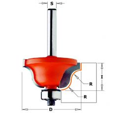 Hm profielfrees Ø 38,1 x 17,3 mm.  R=6.4