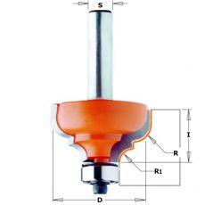 Hm profielfrees Ø 35 x 18,5 mm.  R=6.4-4.8