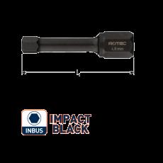 IMPACT bit HEX 4,0 L30mm. (inbus) (10st.)