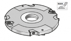 HMWP verstelbare groeffrees Ø180 x 4/7,5 mm, asgat Ø30, z=8 v=4, MAN