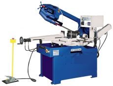 Halfautomatische lintzaagmachine voor metaal tot Ø270mm