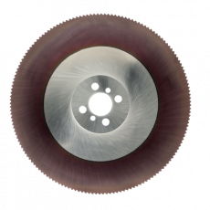 HSS Cobalt afkortzaag Ø 350 x 2,5 x 32 mm. TiAlN