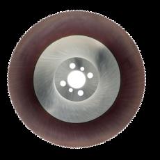 HSS Cobalt afkortzaag Ø 400 x 2,5 x 50 mm. TiAlN