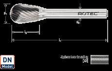 HM Stiftfrees, model DN, combi-vorm
