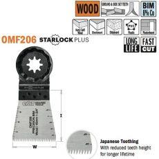 Bi-metaal 8% cobalt dubbelrijige Japanse vertanding alle houtsoorten, 45mm