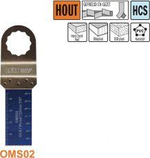 22 mm. multitool voor in hout (SuperCut)