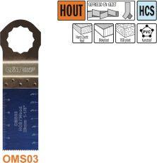 28 mm. multitool voor in hout (SuperCut)